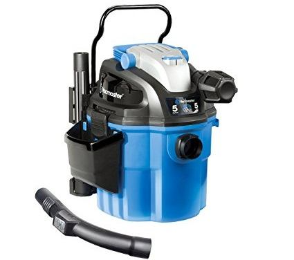 Vacmaster 5 Gallon, 5 Peak HP, with 2-Stage Motor, Wet/Dry Wall Mount Shop VAC