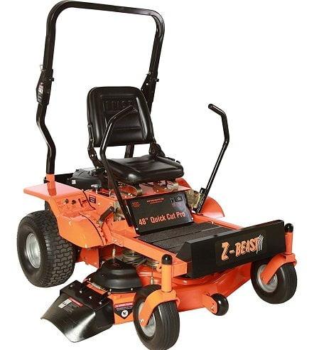 Z-Beast 48ZB Heavy-Duty Zero Turn Mower