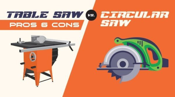 tablesaw vs. circular Saw