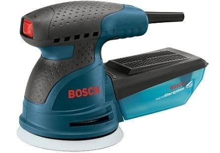 Bosch ROS20VSC 5-Inch Random Orbit Sander with Carrying Bag