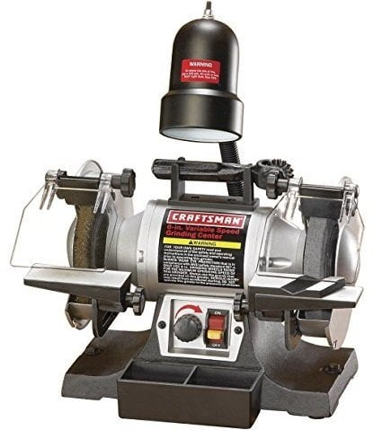7 Best Bench Grinder Reviews For Sharpening Cutting Toos
