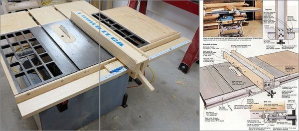 8 Simple Diy Table Saw Fence Plans You Can Build In Less 1 Hour