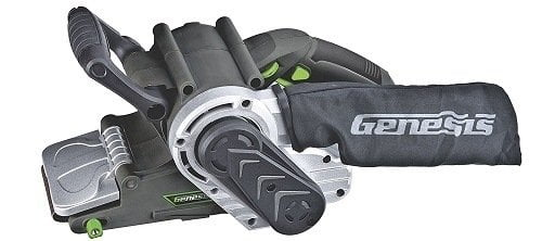 Genesis GBS321A 3-Inch-by-21-Inch Variable Speed Belt Sander with Cloth Dust Bag