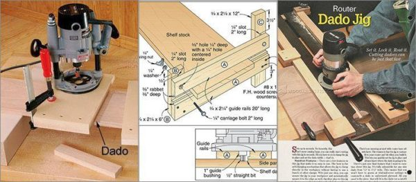 8 Simple Diy Router Dado Jigs With Tuitorials