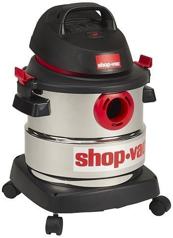 Shop-Vac 5986000 5-Gallon Stainless Steel Wet Dry Vacuum