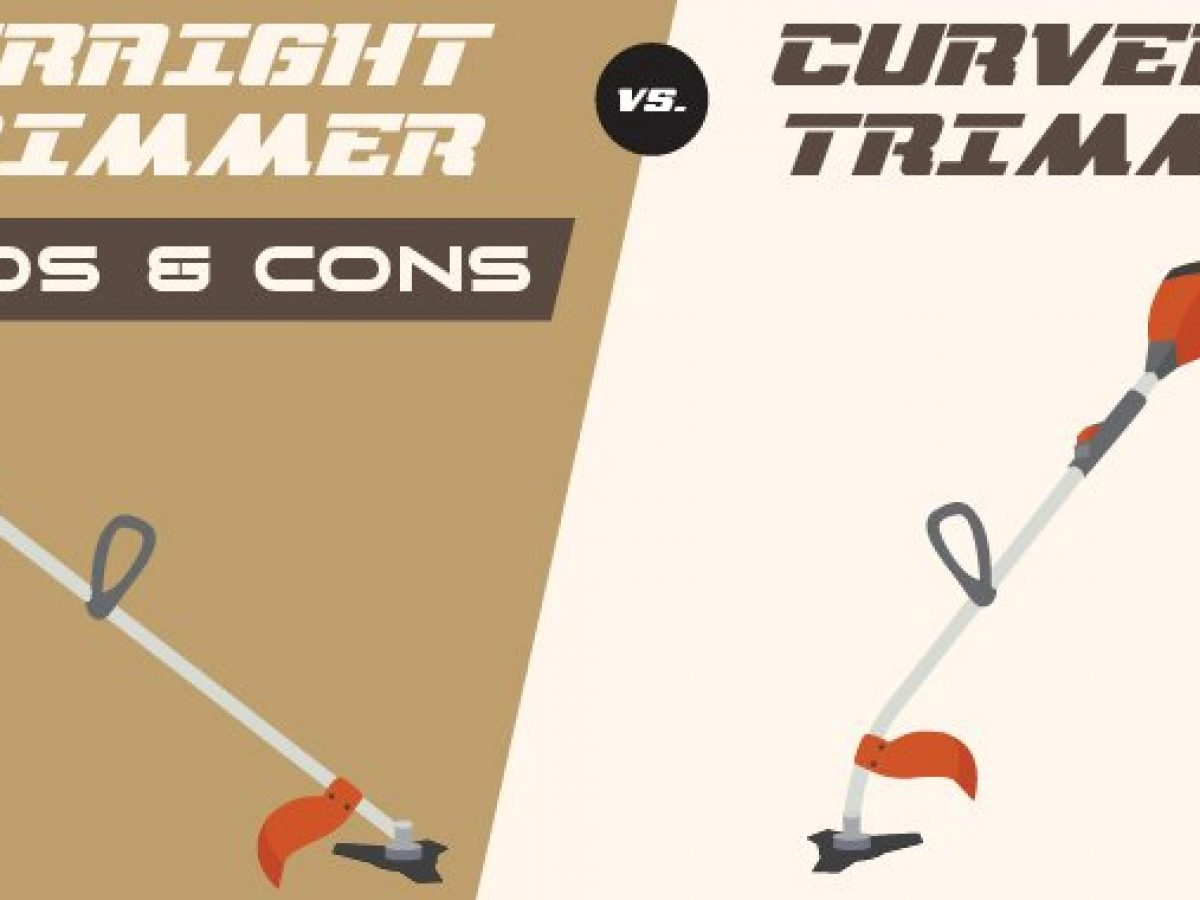 Straight Vs Curved Shaft Trimmer Pros