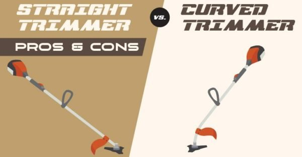 Straight vs Curved Shaft Trimmer - Feature Image