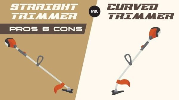 Straight vs Curved Shaft Trimmer