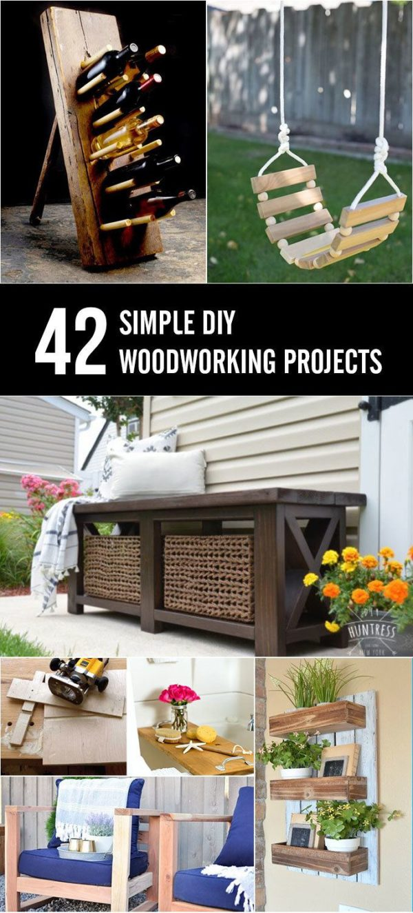 Simple Woodworking Projects For Beginners