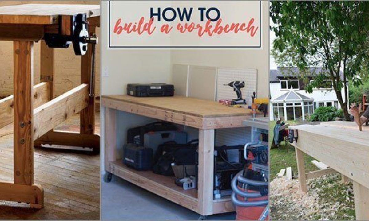 51 Free Diy Portable Workbench Plans To Get You Started Woodworking