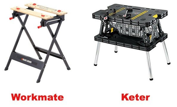 Workmate vs Keter