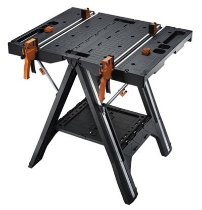 """Workbench Vise Folding Work Table Clamp Portable Swivel Pegs Workmate 125 30/"""""""