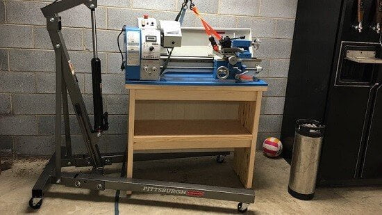 Johnny's DIY Lathe Stand Tutorial