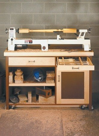 10 free lathe stand plans to kickstart your woodcarving project