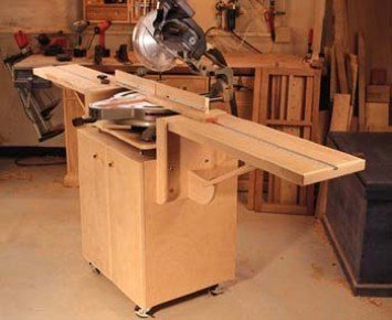 The Ultimate Miter Saw Stand DIY Tutorial