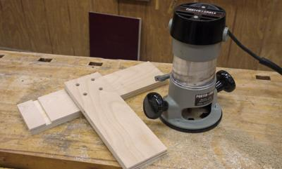 Simple & Clever Router Dado Jig Tutorial