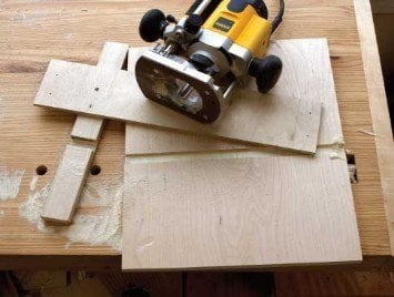 Small & Quick Router Dado Jig In-Depth Tutorial