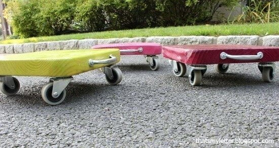 Colorful DIY Kids Scooter Tutorial