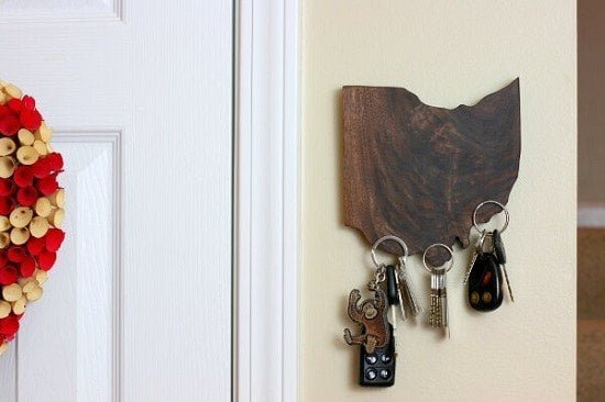 State Pride DIY Magnetic Key Holder Guide