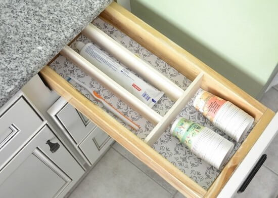 DIY Easy Drawer Dividers Guide