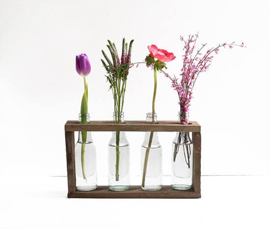 Ronja's 4-Bottle Vase Tutorial