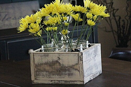 Mason Jar Crate DIY Guide