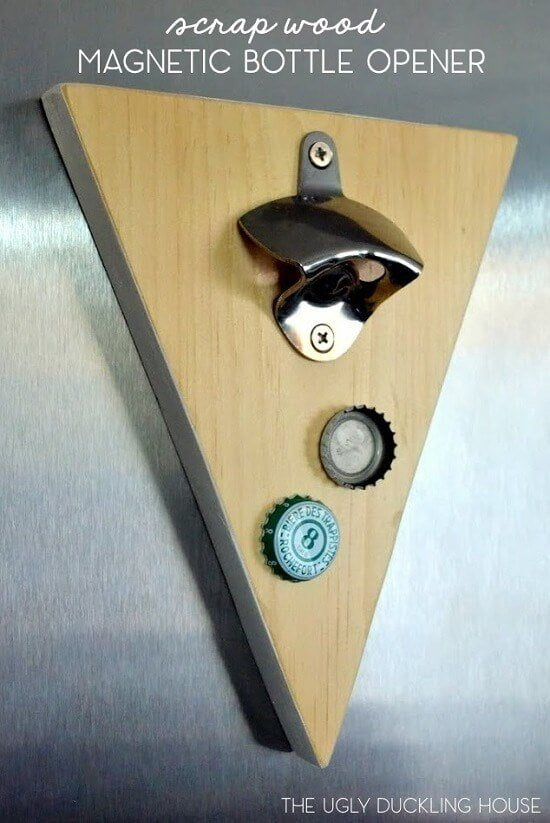 Magnetic Bottle Opener DIY Guide