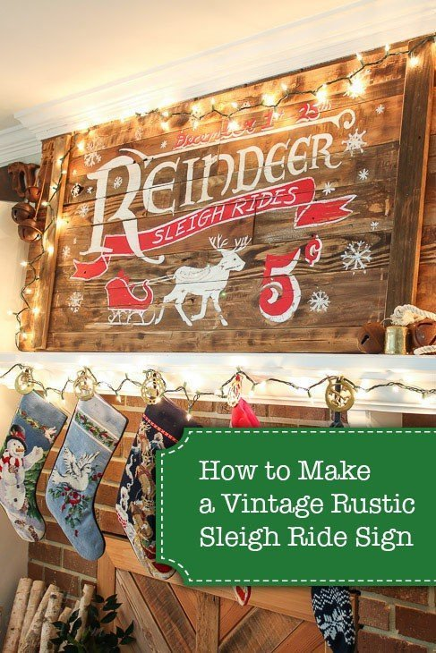 Vintage Rustic Sign Guide