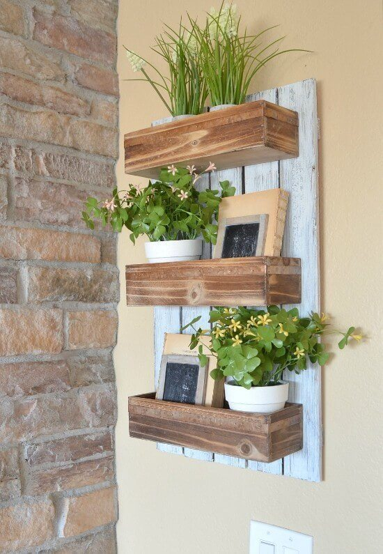 DIY Wooden Wall Planter Guide