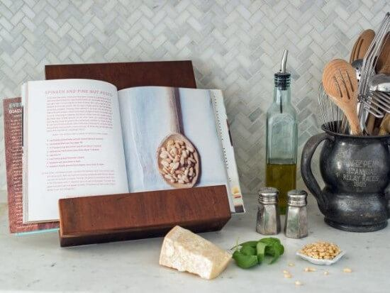 Elegant Cookbook or Tablet Stand Tutorial