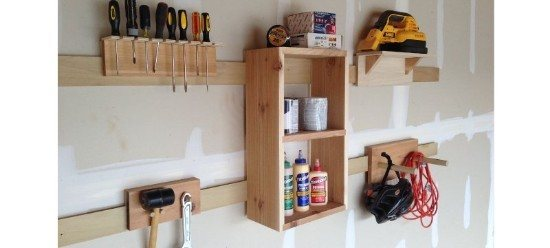 4-Step French Cleat DIY Storage System Tutorial