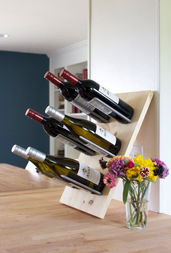 Modern & Stylish DIY Wine Rack