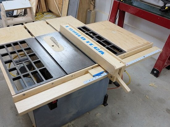 Charmant Completely Wooden Table Saw Fence DIY Guide