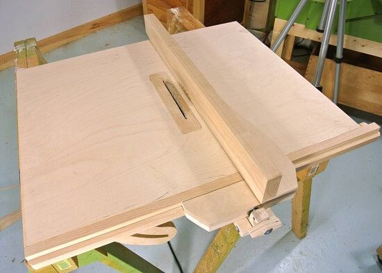 Homemade Table Saw Fence System Tutorial