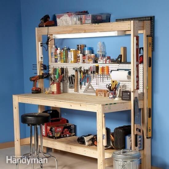 Simple & Efficient $50 Workbench