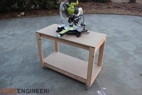 Simple & Portable DIY Workbench Plans