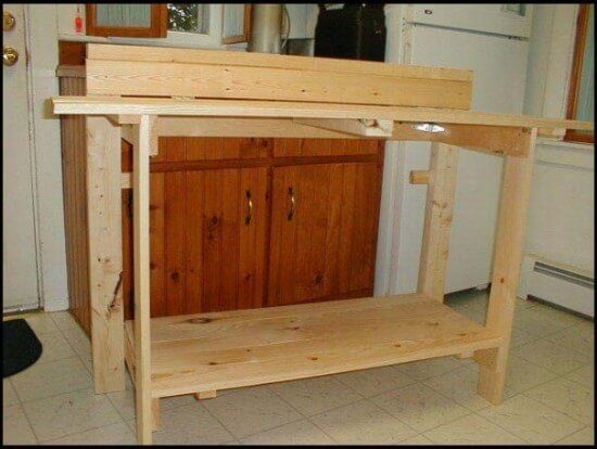 Dave Flanagan's Fold-Up Workbench