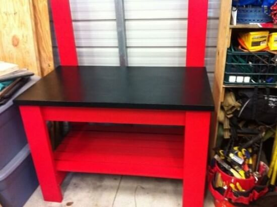 The $70 & 4-Hour Compact Workbench Tutorial