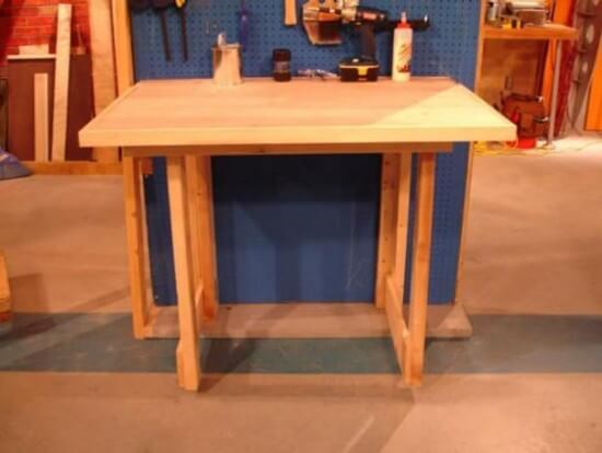 Fold-Down Workbench Tutorial