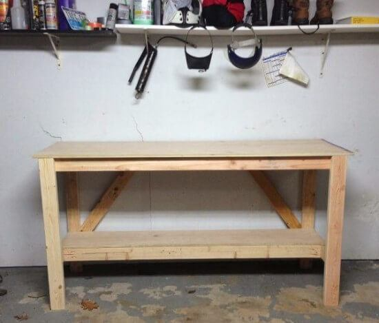 Simple DIY Workbench Tutorial