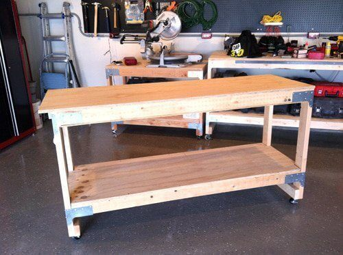 All-Purpose Workbench with Tie Connectors Tutorial