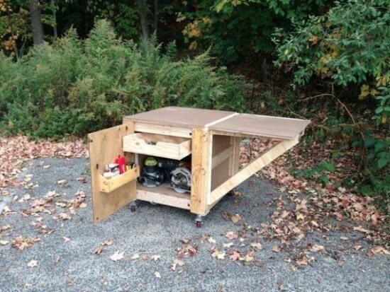 The Ultimate Mobile Workbench DIY Tutorial