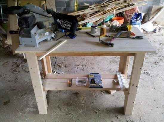 Ana's 8-Step Sturdy Work Bench Tutorial