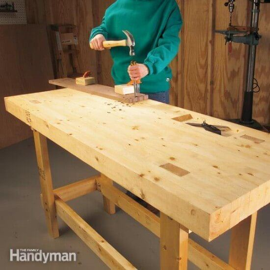DIY Stable & Tough Budget Workbench Tutorial