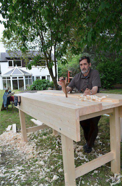 How to Build a Workbench the Old Way
