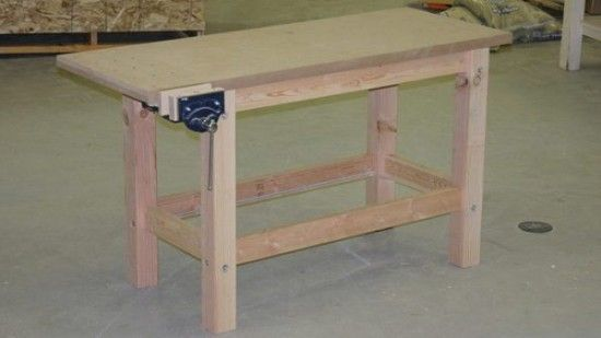 Easy & Sturdy Workbench Plans