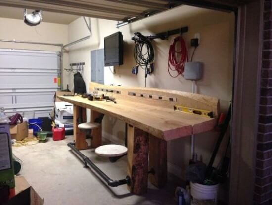 DIY Timber Workbench in 8 Steps