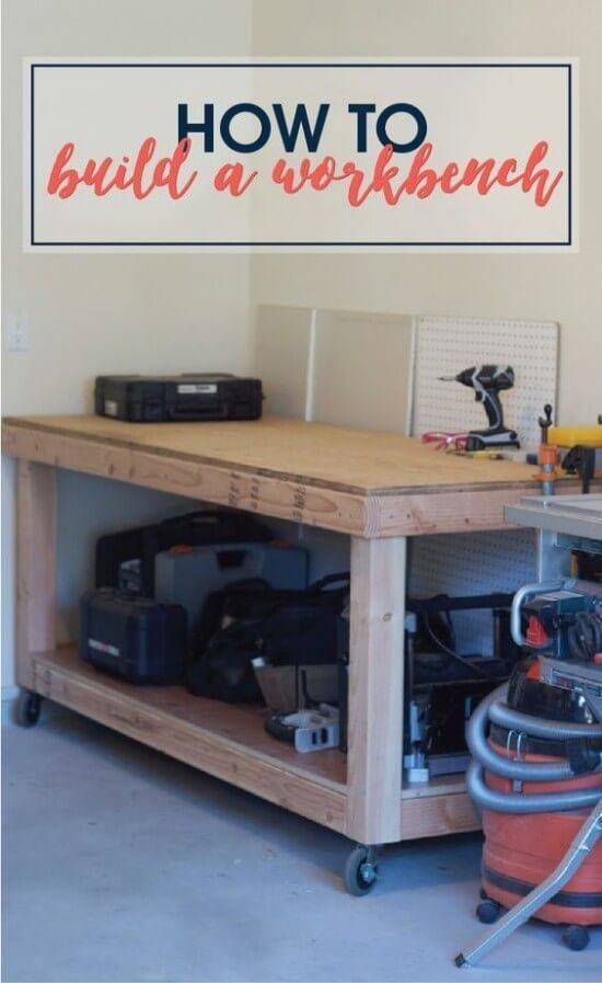 Rolling workbench 6-Step DIY Guide