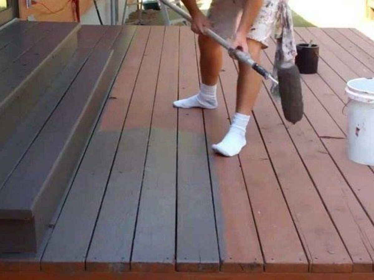 Oil Based Water Deck Stain