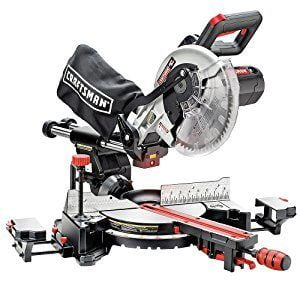 Craftsman 10 Single Bevel Sliding Compound Miter Saw